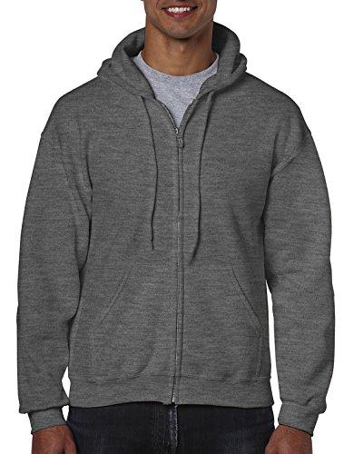 Gildan Men's Fleece Zip Hooded S...
