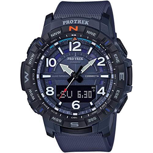 Casio PRO Trek PRT-B50-2ER Watch Men Blue 2019 Pulsmessgerät