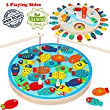 Magnetic Fishing Game for Kids, Fun Fishing Game Toy for Toddlers 2 3