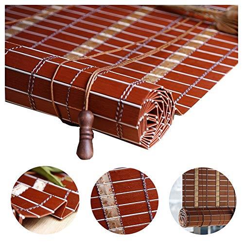 LIANGJUN bamboe gordijn rolgordijn vouwgordijn Romeinse venster schaduwen waterdichte regendichte partitie rolluik balkon schaduw gordijn Thuis Chinees, aanpasbaar