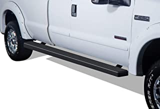APS Wheel to Wheel iBoard 5 inches Custom Fit 1999-2016 Ford F250 F350 Super Duty Extended Cab 8ft Bed Pickup 4-Door (Nerf Bars Side Steps Side Bars)