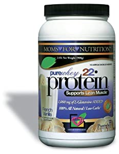 MomsForNutrition Pure Whey Protein delivers the optimal source of whey protein NO Artificial Sweeteners, ZERO Added Sugars This highly specialized processing system ensures a high quality protein source in the form of short and long chain peptides, t...