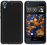 mumbi Hülle kompatibel mit HTC Desire 626G Handy Hülle Handyhülle, schwarz