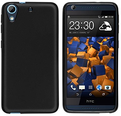 mumbi Hülle kompatibel mit HTC Desire 626G Handy Case Handyhülle, schwarz