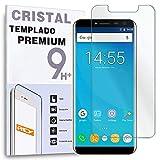 REY Protector de Pantalla para OUKITEL C8, Cristal Vidrio Templado Premium