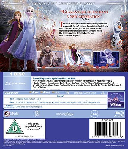 Frozen 2 Blu-ray [2019] [Region Free]