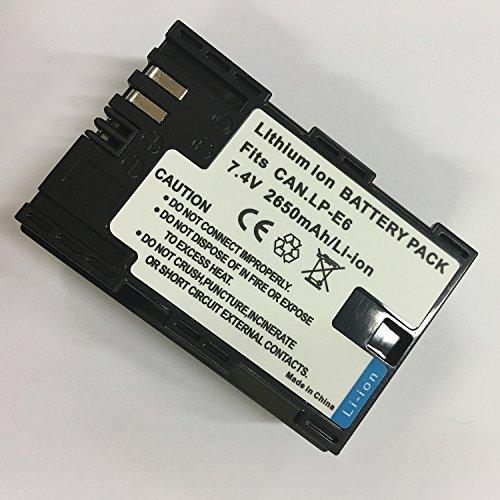 【PCATEC】 Canon キャノン LP-E6 互換 バッテリー EOS 6D,EOS 5D MarkII,EOS 5D MarkIII,EOS 5DS,EOS 5DS R,EOS 60D,EOS 7D,EOS 7D Mark II,EOS 70D,E