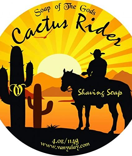 Cactus Manufacturer OFFicial shop Rider Natural Shaving Soap Shea Popular brand in the world Nourishing B with Kokum