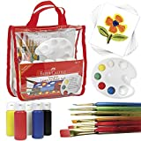 Faber-Castell Young Artist Learn to Paint Set - Washable Paint Set for...