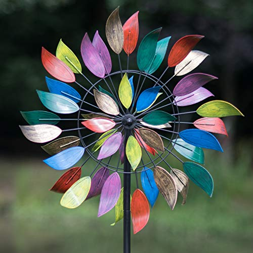 Creekwood Dancing Leaves Wind Spinner, Multicolour, 61 x 213 cm