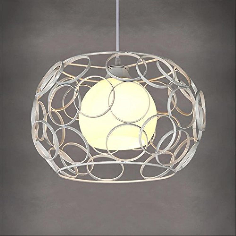 Xiao Fan   Hochwertige Eisen-Hohl-Kronleuchter 1-Light Deckenleuchte Kreative Kreis Kombination Pendelleuchte Einzelzimmer Schlafzimmer Esszimmer Kaffee Wohnzimmer Hngende Lichter