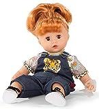 Götz 1920934 Muffin Wild Cat Puppe - 33 cm große Babypuppe mit braunen Schlafaugen, rote Haare und...