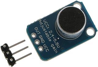 Baosity Eleet Microphone MAX4466 Adjustable Gain Breakout Audio Recording