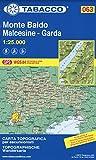 Monte Baldo - Malcesine - Garda 1:25.000 [Lingua inglese]: 63