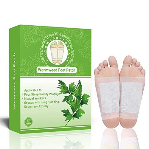 Foot Pads - ROMANTIC BEAR Tampons nettoyants naturels pour soins des pieds, sommeil et soulagement anti-stress, sans stress Sticker pour les soins de