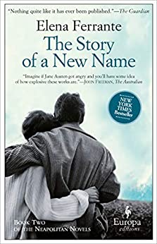 The Story of a New Name (Neapolitan Novels Book 2) by [Elena Ferrante, Ann Goldstein]