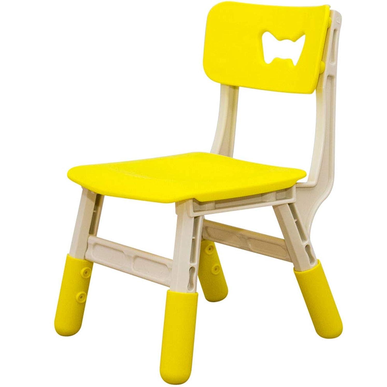 該当するリズム騒々しい持ち上がる子供のあと振れ止めの椅子/幼稚園の滑り止めのプラスチックスツール - 最大負荷100kg
