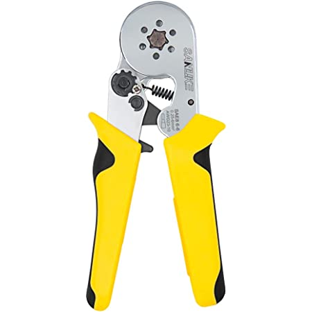 0.25-6mm² 175mm Sleeve-type Terminal Hand Crimping Tool Ferrule Wire Crimper US
