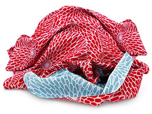 Maruwa Tischtuch, schöner Schal und originelle Tasche. Oder kreative Geschenk-Verpackung. Furoshiki Isamari, das vielseitige, original japanische Tuch
