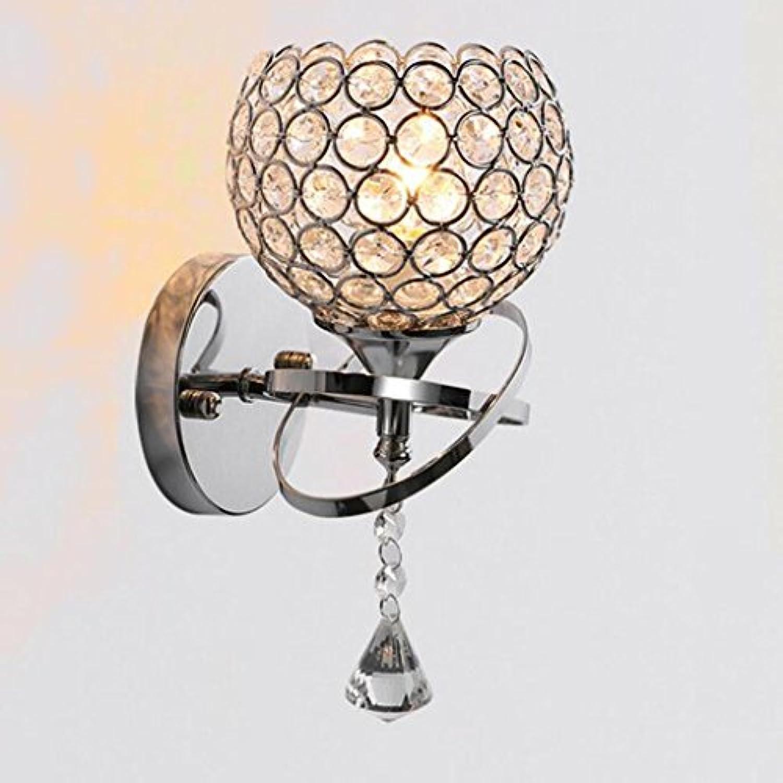 Wandlampe LED moderne runde Korridor warme Schlafzimmer Nachttischlampe TV-Lampe, single head