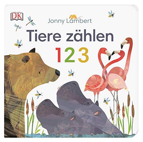 Tiere zählen 1 2 3: Pappbilderbuch mit Ausklappseiten ab 2 Jahren