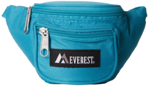 Everest Signature Waist Pack - Junior, Turquoise, One Size