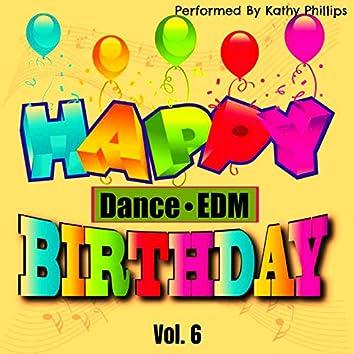 Happy Birthday (Dance/EDM), Vol. 6