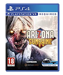 """Virtual reality meets the zombie apocalypse, Arizona Sunshine is an FPS built exclusively for VR that immerses you in a post-apocalyptic southwestern America overrun by zombies Real-life weapon handling: Using """"PS Move"""" controllers or the """"PS VR"""" Aim..."""