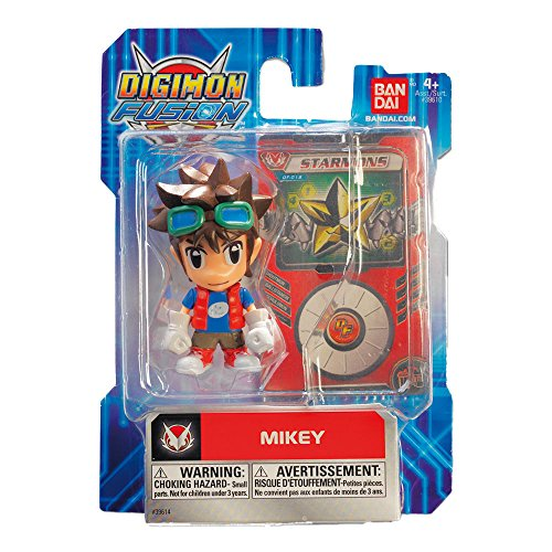 Digimon 3 Zoll Digifigure Mikey Fingerring und Karte