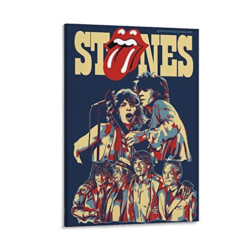 DRAGON VINES Rolling stones Concierto Carteles Música Mejor Rock Band