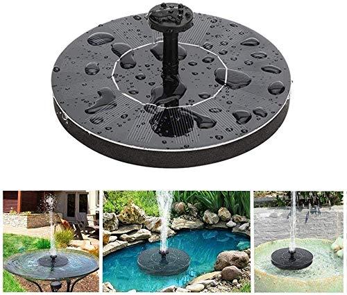 Gartendekoration Solar Vogel Wasserbrunnen Gartendekoration Kleiner Teich Pool Aquarium Aquarium Für Waschbecken im Freien und Gartendekoration