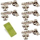 Sourcingmap A13110500UX0156 Bisagras de puerta Set de 2 Piezas