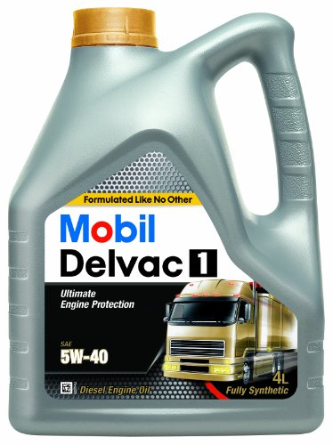 Mobil 148368 Motoröl 1 Delvac, 4 Liter