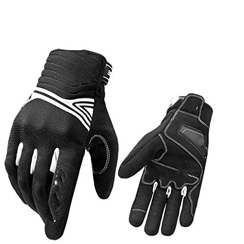 All-season motorcycle gloves shockproof motorcycle gloves touch screen breathable riding men's...