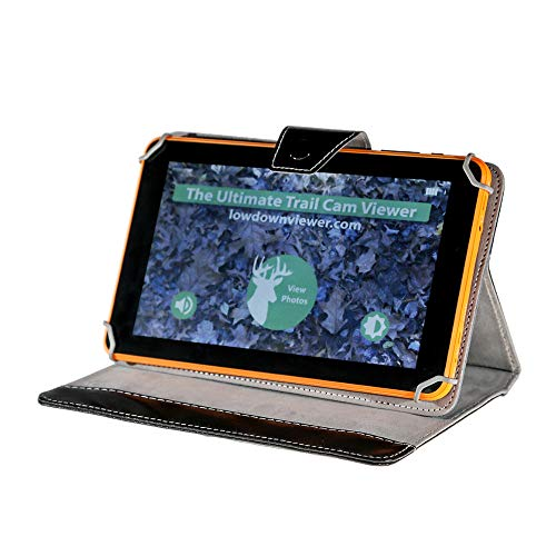 """Lowdown Easy Trail Camera Image and Video Viewer with 9"""" HD Color Touch Screen"""