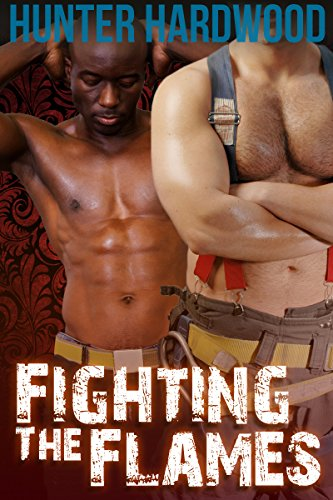 Fighting the Flames (Interracial, First Time Gay, Firemen, Men in Uniform) (English Edition)
