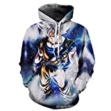 TopLAD Unisex Dragon Ball z Hoodies Fashion Pullover Sweatershirts 3D Printed Goku Naruto Hooded Jackets Tops Coat l, Multicoloured05, Large
