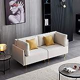 Lazyspace Sofá cama convertible, sofá seccional, sofá moderno...