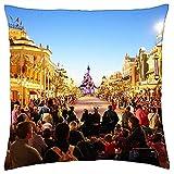 Funda de Almohada Euro Disney Disneyland Paris Theme Park Francia