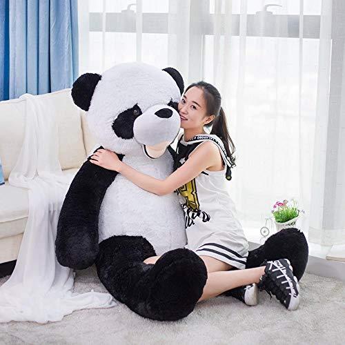 FUYU Riesenpanda Big Teddy Bear Stitch Skin Ungefüllte weiche Plüschtiere Kuscheltiere Spielzeug Kinder Mädchen Liebe Puppe Geschenk, 340cm