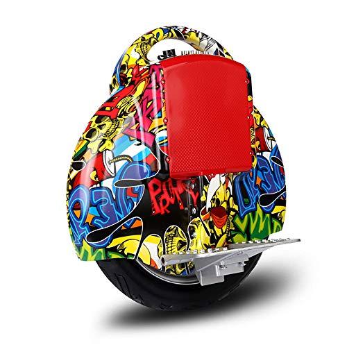 COCKE Elektrisches Gleichgewicht Einrad-Motorrad, for Erwachsene Monowheel Elektrischen Einrad Mit,Elektro-Scooter Für Erwachsene,a