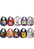Tris&Ton Pack Baberos Bandana Babero impermeable sin mangas para bebe niño niña con dibujos animados (Trisyton)… (Mix)