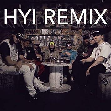 Hyi (feat. Mäkki, VilleGalle, TIPPA, Kube, Ruma & Nick-E Maggz) [Remix]