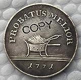 Colección de Regalo de Recuerdo de 21,2 mm con Copia de Moneda de Polonia 1771