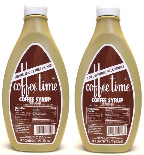 Coffee Time Coffee Syrup 16oz - ...