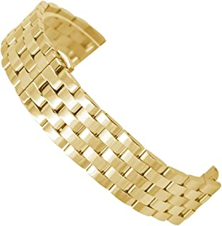 Bonstrap Watch Bands Stainless Steel Metal Watch Band Strap Replacement Bracelet 18mm 20mm 22mm 24mm