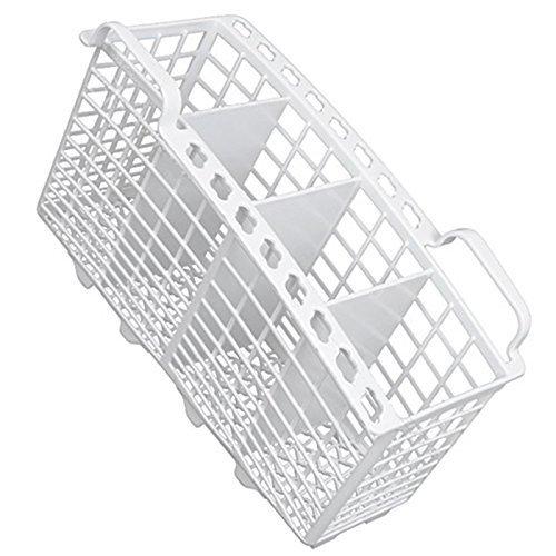 Genuine Hotpoint SDW60PC SDW80P.C Slimline Dishwasher White Cutlery Basket (W230 x D110 x H135mm)