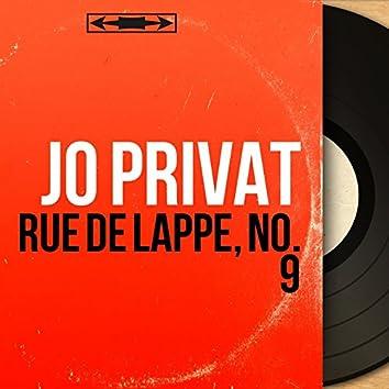 Rue de Lappe, no. 9 (Mono Version)