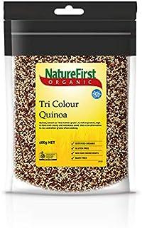 NatureFirst Organic Tri Colour Quinoa Grain 600 g, 600 g