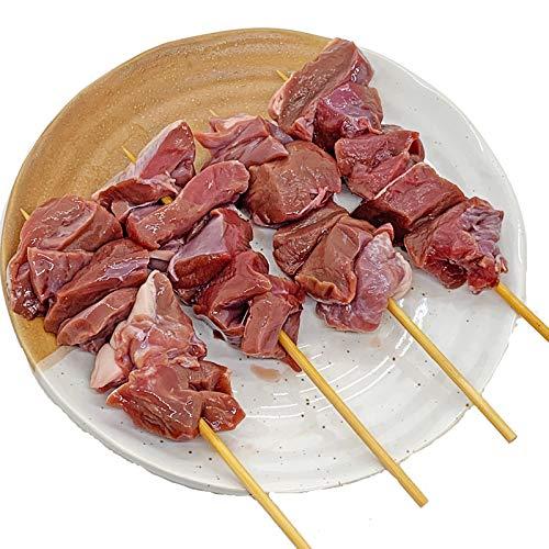 豚ハツ串 40g×20本 国産豚 (15cm丸串)(pr)(45720)(やきとん)